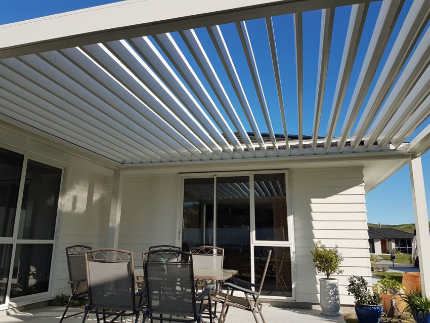 Year round outdoor living system for Outdoor spaces nz